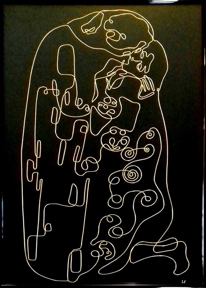 Klimt's Kiss (after uno) 20190315_111001-1