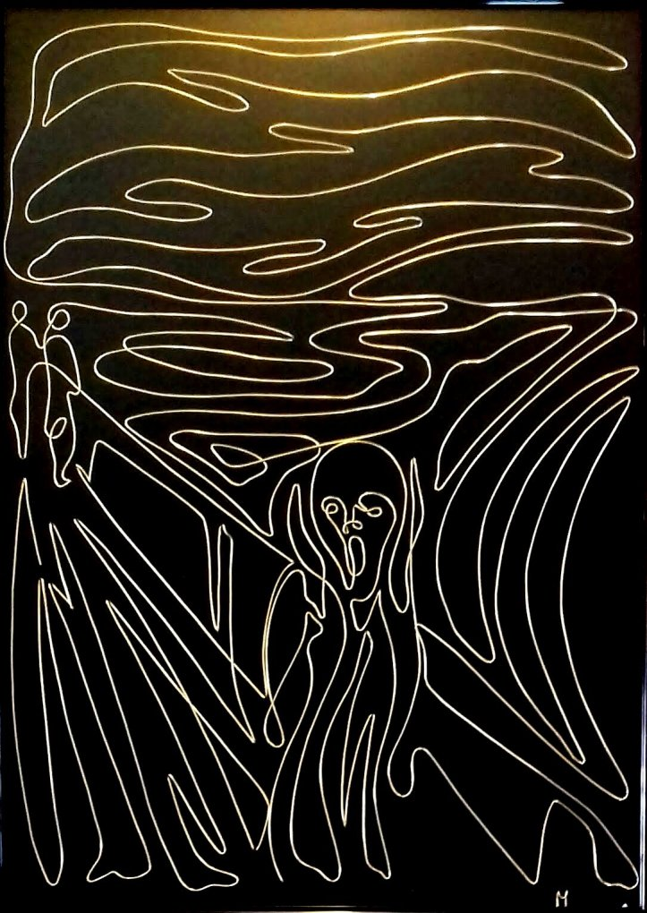 The Scream - Edvard Munch (by uno) 20190315_110848-1