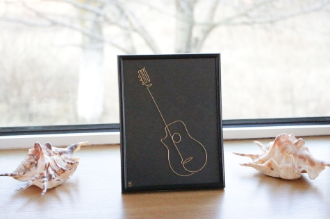 One Line Guitar IMG_5772