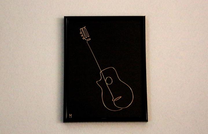 One Line Guitar IMG_5844