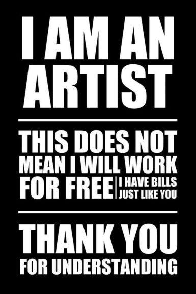 I am an artist 0a82c0fc00885abddfe71360934bb02d