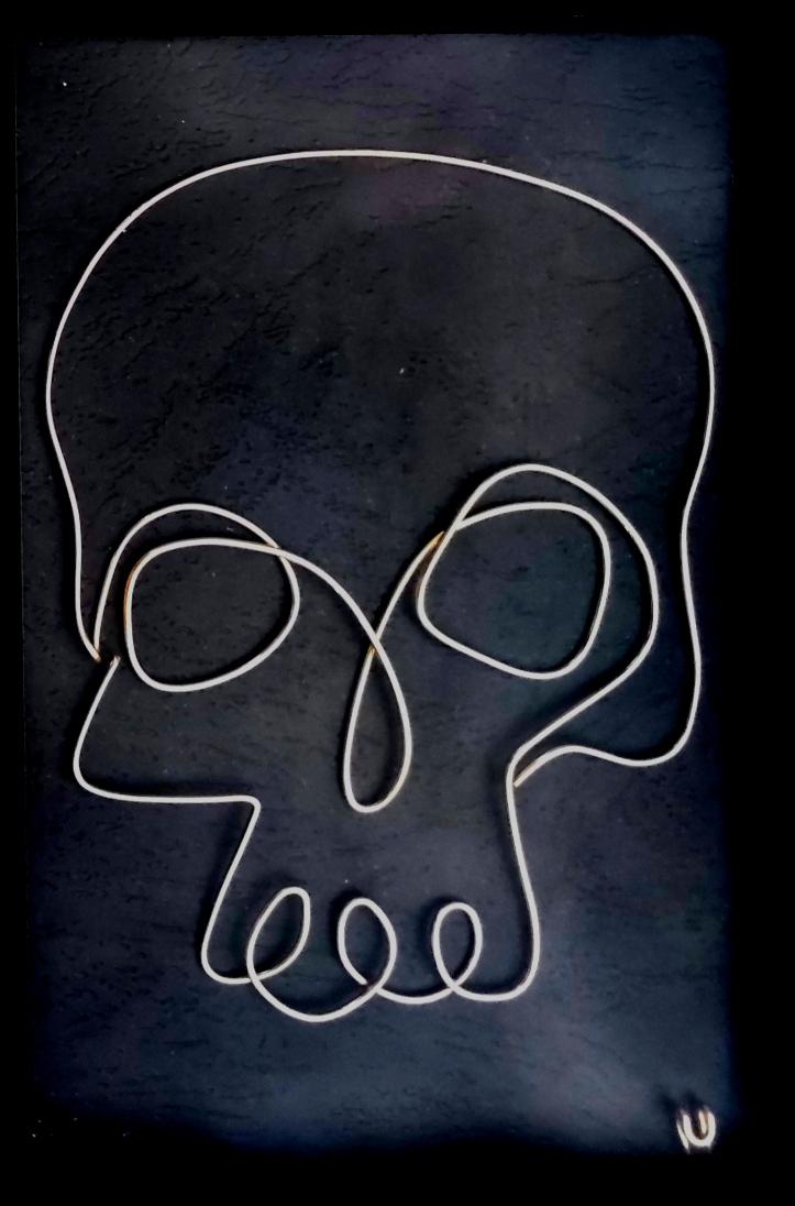 One Line Human Skull IMG_20211017_181323