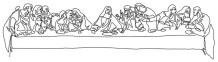 The Last Supper by Leonardo Da Vinci #uno